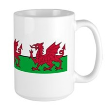 March of the Welsh Red Dragons Mug