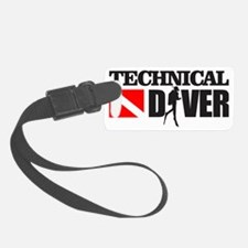 Technical Diver Luggage Tag
