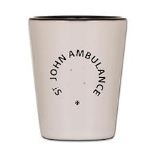St John Ambulance Shot Glass