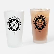 St John Ambulance Drinking Glass