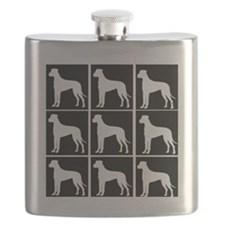 great dane ALL OVER 3 Flask