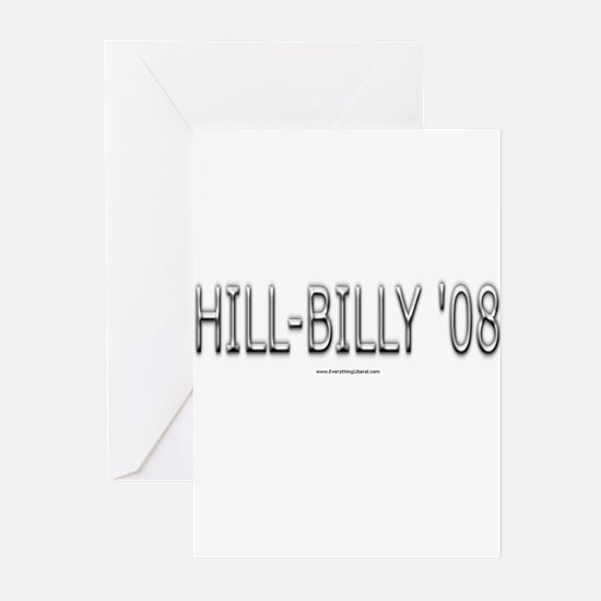 Hill-Billy '08 Greeting Cards (Pk of 10)
