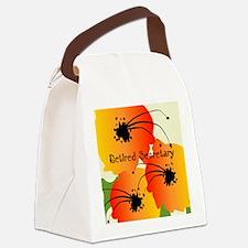 Retired Secretary 1 Canvas Lunch Bag
