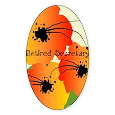 Retired Secretary 1 Decal