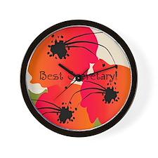 Best Secretary Wall Clock