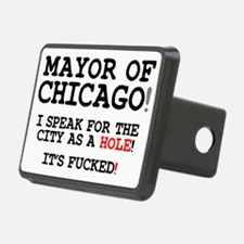 CITY AS A HOLE - ITS FUCKE Hitch Cover