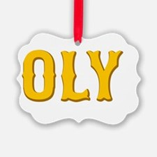 Show Me Your Oly Face! Ornament