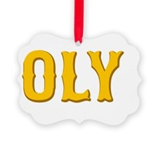 Show Me Your Oly Face! Picture Ornament