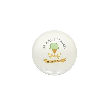 Ice Cream Lover Mini Button (10 pack)