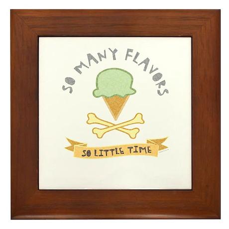 Ice Cream Lover Framed Tile