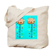 LOVELY 50TH Tote Bag