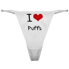 I Love Puffs Classic Thong
