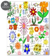 Field of Flowers Puzzle