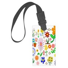 Field of Flowers Luggage Tag