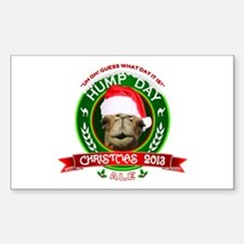Hump Day Camel Christmas Ale Label Decal