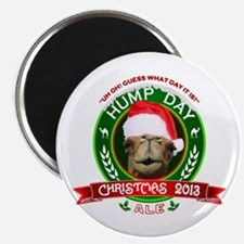 Hump Day Camel Christmas Ale Label Magnets