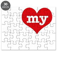 I Love My Dutch Warmblood Puzzle