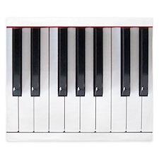 Piano Keyboard 5 King Duvet