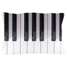 Piano Keyboard 5 Pillow Case