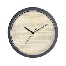US Constitution Wall Clock