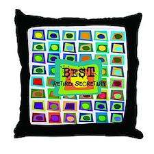 Retired Secretary pillow 5 Throw Pillow