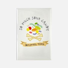 Sour Candy Lover Rectangle Magnet