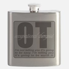 OCCUPATIONAL THERAPIST T-SHIRTS AND GIFTS Flask