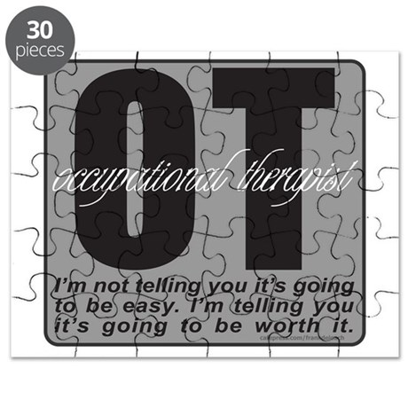 OCCUPATIONAL THERAPIST T-SHIRTS AND GIFTS Puzzle