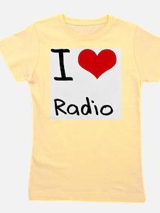 I Love Radio Girl's Tee