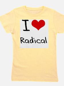 I Love Radical Girl's Tee