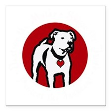"Response-a-Bull Rescue L Square Car Magnet 3"" x 3"""