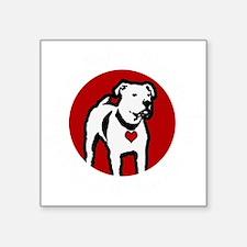 """Response-a-Bull Rescue Logo Square Sticker 3"""" x 3"""""""