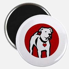 Response-a-Bull Rescue Logo - Black Magnet