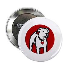 """Response-a-Bull Rescue Logo - Black 2.25"""" Button"""