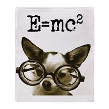 E=MC2 Throw Blanket