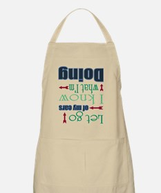 Let Go of My Ears Apron