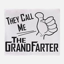 The Grandfarter Throw Blanket