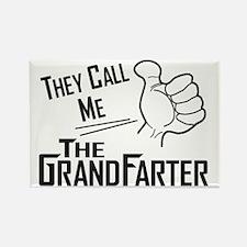 The Grandfarter Rectangle Magnet