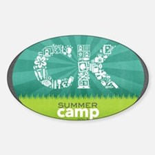 CK Summer Camp 2013 Logo Decal