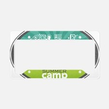 CK Summer Camp 2013 Logo License Plate Holder