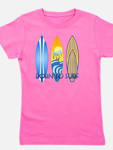 Born 2 Surf Girl's Tee