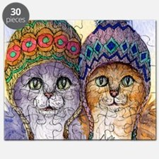 The knitwear cat sisters Puzzle
