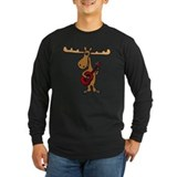 Moose Long Sleeve T-shirts (Dark)