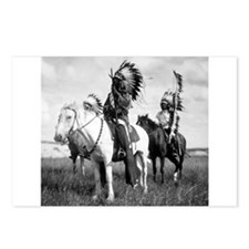 Plains Warriors Postcards (Package of 8)