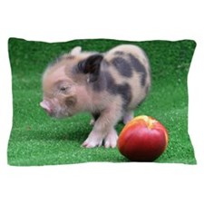 Peach as a Pig Pillow Case