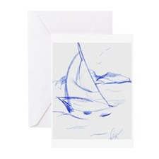 Ink Boat Greeting Cards (Pk of 10)