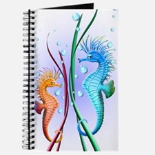 Seahorses Cartoon Journal