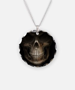 skull face Necklace