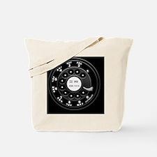 rotary-phone-dial-PLLO Tote Bag