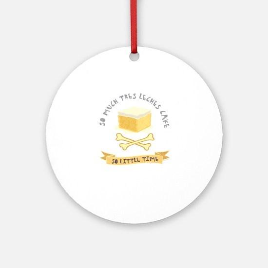 Pastel de Tres Leches Ornament (Round)